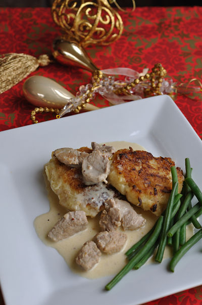 Creamy Honey & Mustard Pork
