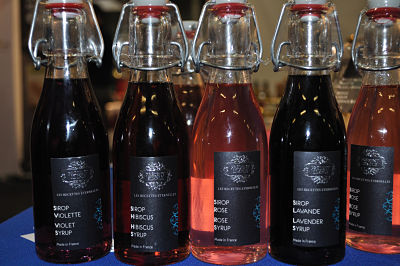 French Gourmet Food Syrups