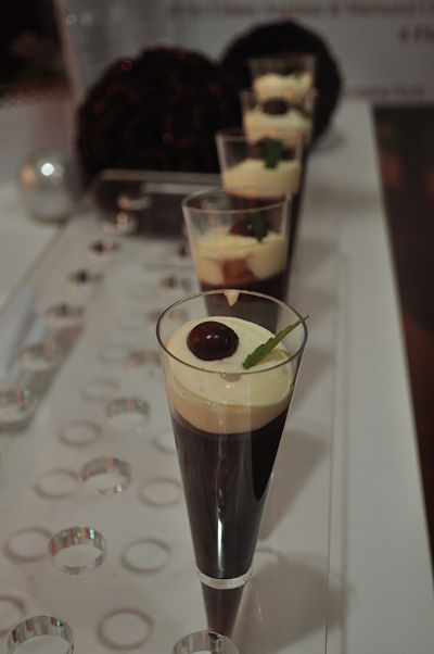 Salon des Saveurs Christmas Pudding Sherry Triffle