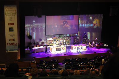 Taste Christmas Stage
