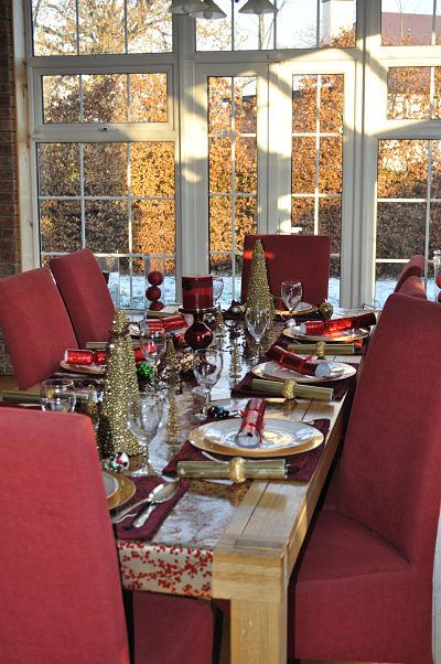 Christmas Table 2010