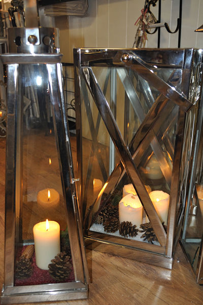 Hampton Villa Candle Lanterns