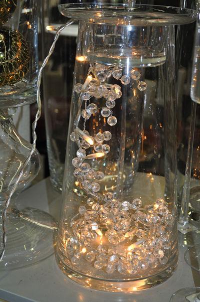 Meadows & Byrne Vase & Lights