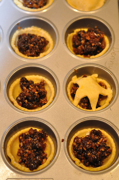 Minced Pies before baking