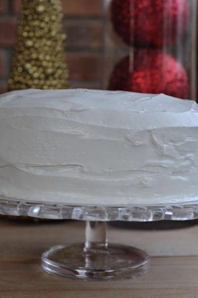 Naked Christmas Cake