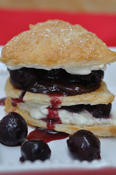 BlackCherry Millefeuille