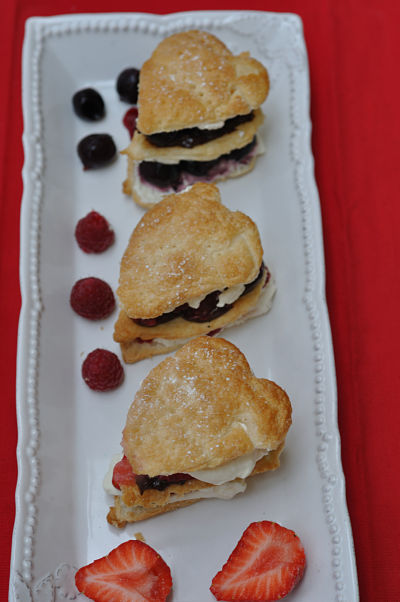 Millefeuille Hearts Trio