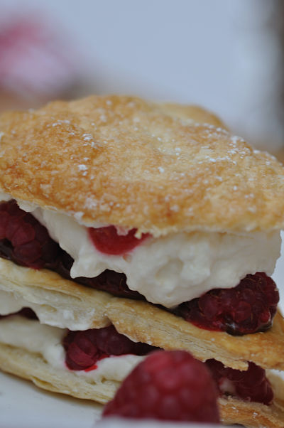 Raspberry Millefeuille