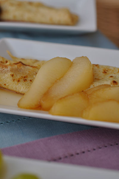 Pear & Brandy Pancake