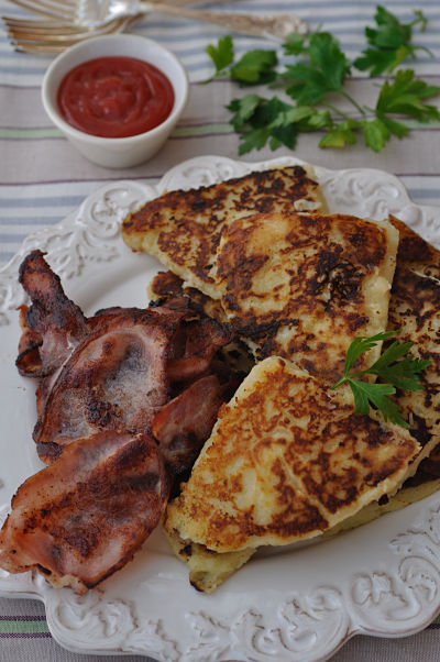 Potato Farls and Rashers