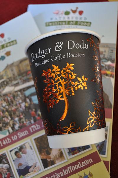 Badger & Dodo Coffee Cup