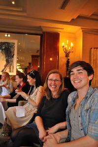 Kristin Jenkins (dinnerdujour) & Donal Skehan