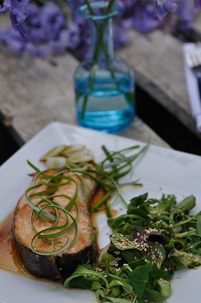 Salmon in Soy & Honey