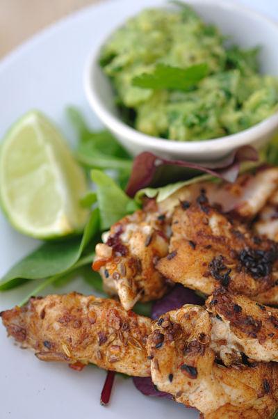 Ras El Hanout Spiced Chicken