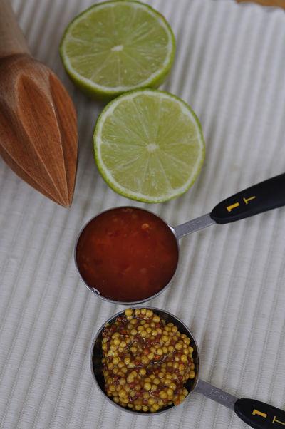 Spicy slaw dressing ingredients