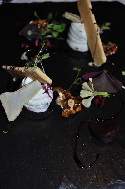 Beetroot, Goat's Cheese, Walnut L'Ecrivain
