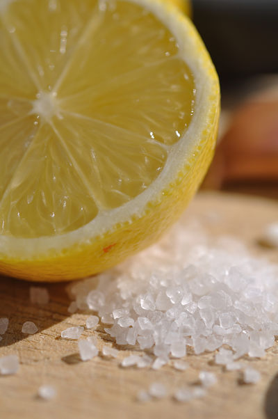 Sea salt and lemon
