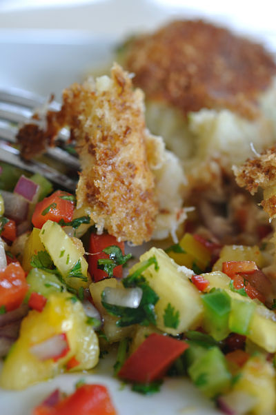 Crabcake & Salsa 2