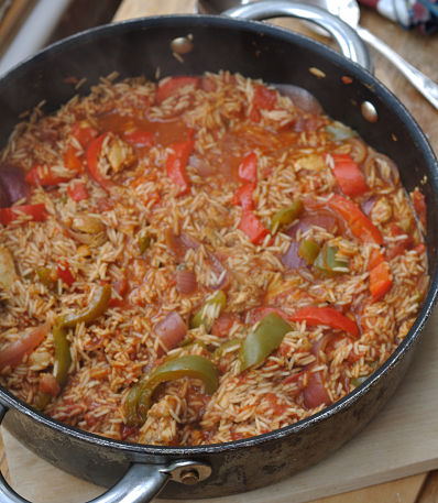 Jambalaya Chicken pot