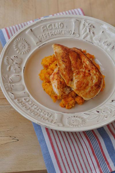 Pimenton Chicken & Sweet Potato Mash