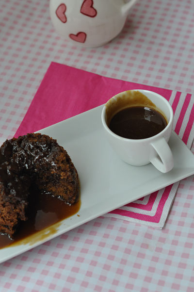 Sticky Toffee Pudding eaten