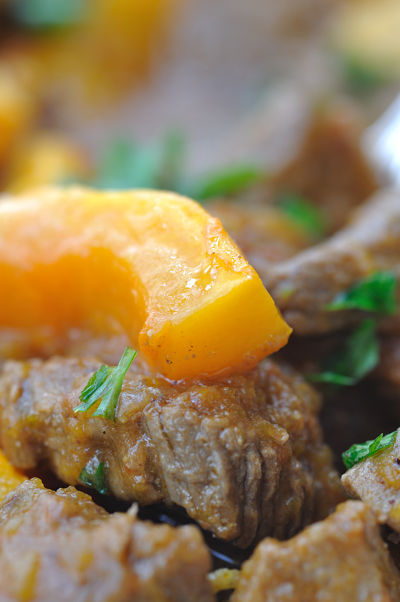 Beef Curry & Butternut Squash