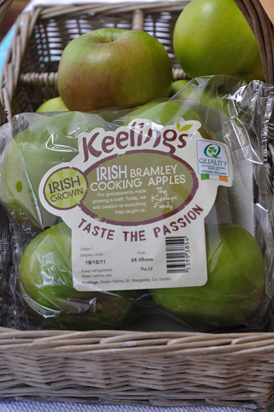 Irish Bramley Apples