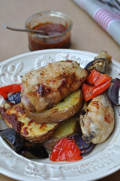 Mediterranean Chicken & Vegetables