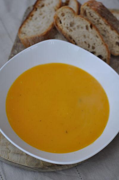 Butternut Squash & Coconut Soup 2