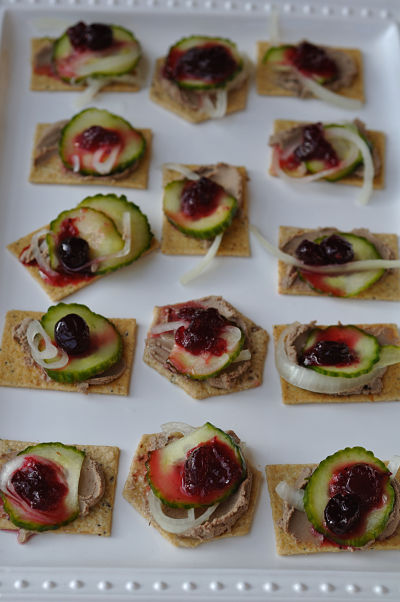 Christmas Canape 2