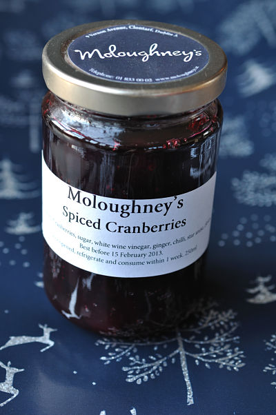 Moloughney'S Spiced Cranberries