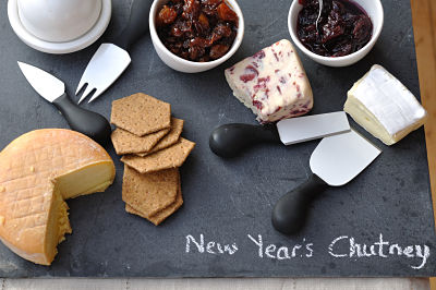 Secret Santa Cheese Board