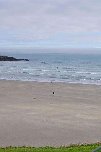 Snapshot of 1 of the 2 beaches at Inchydoney Island