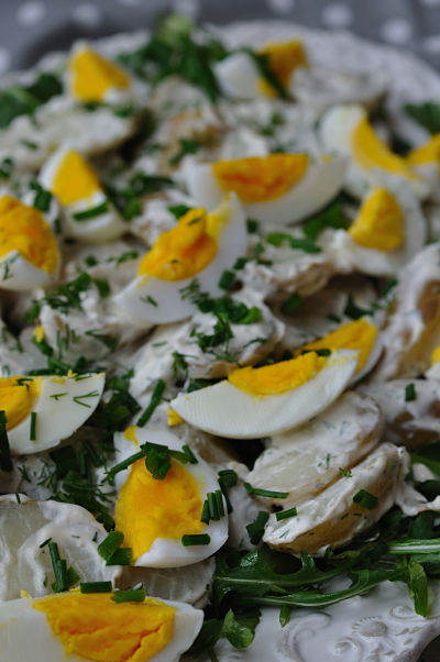 Dill Dressed Duck Egg & Potato Salad