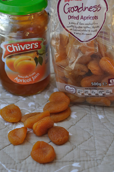Dried Apricots and Apricot Jam