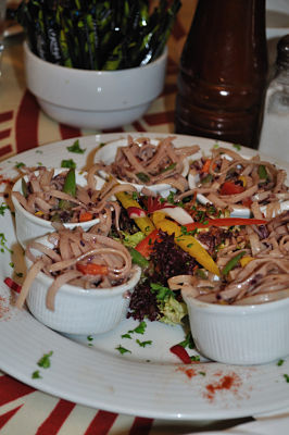 Noodle Salad at The Quay Coop