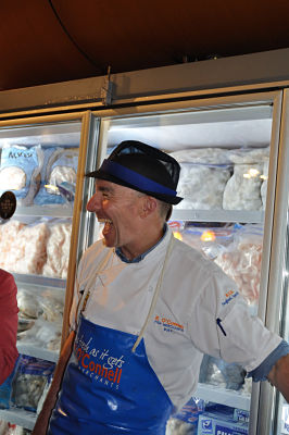 Modern Cork Legend - Pat O'Connell at Kay O'Connells fishmongers