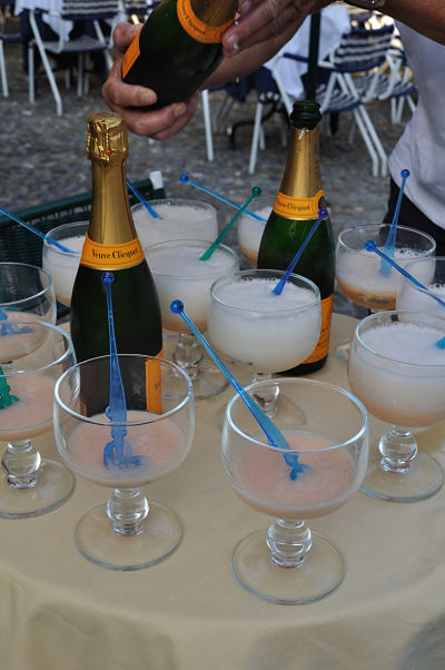 Bellini time at Portofino