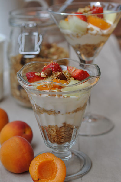 Breakfast Granola & Fruit