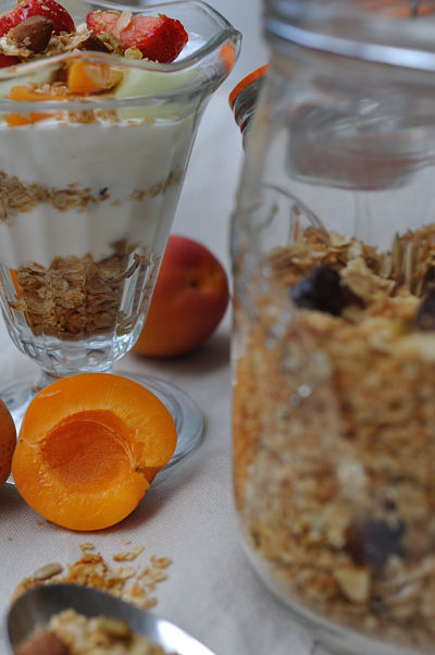Breakfast & Granola in Jar