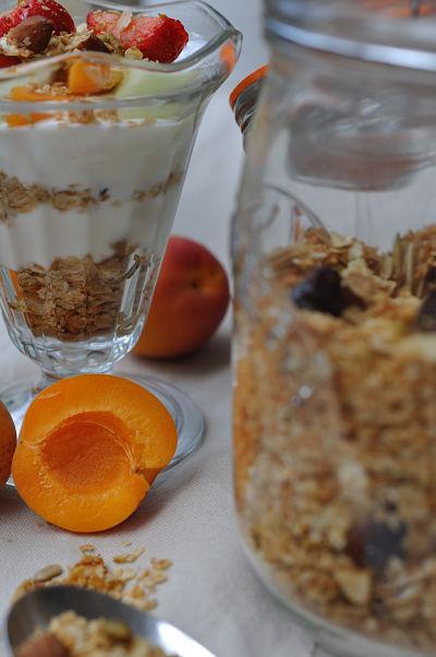 Breakfast & Granola in Jar