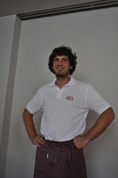 Chef Massimiliano of Ristorante Vittoria