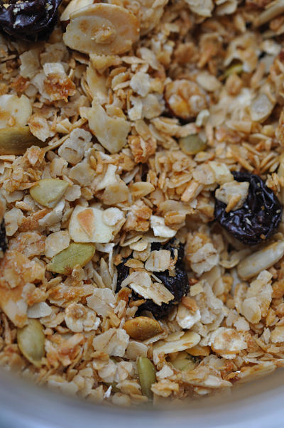 Granola Close-Up