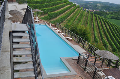 Pool at Villa Tiboldi