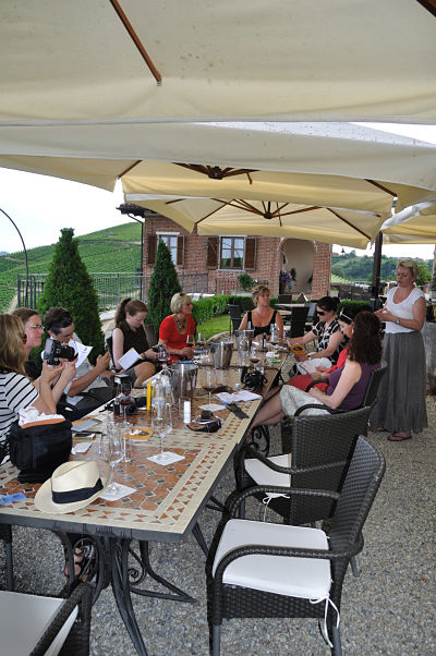Wine Tasting Malvira at Villa Tiboldi