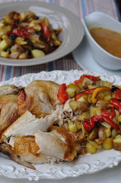 Nigellissima Roast Chicken