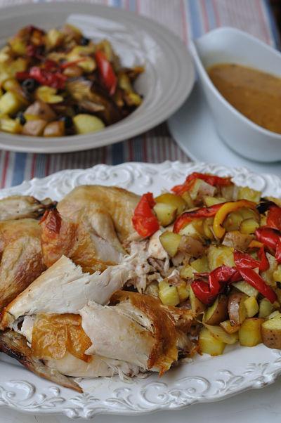 Nigellissima Roast Chicken
