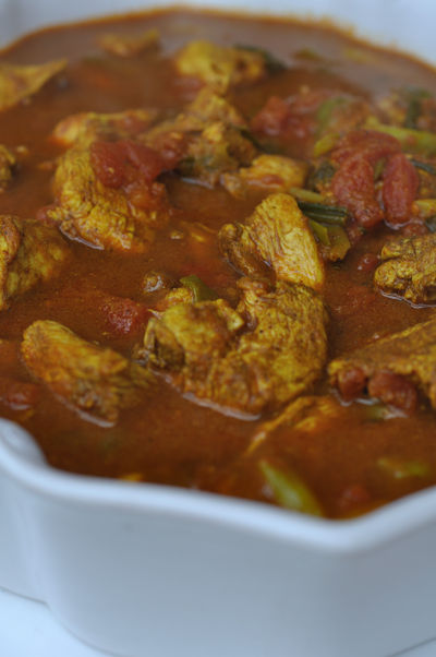 Chicken Curry Close Up