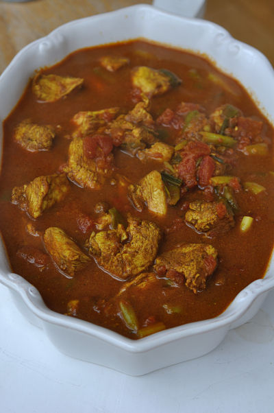 Chicken Curry Dish