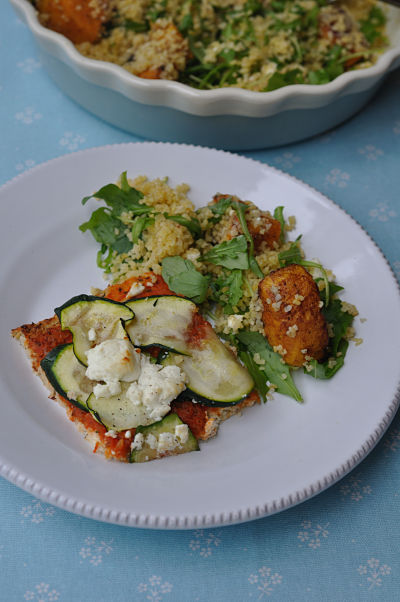 Cauliflower Pizza with Bulgar Wheat Salad_01_opt